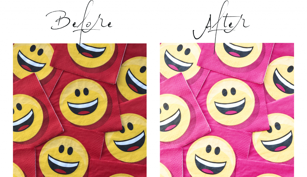 dental soiree // A Color Story Before and After