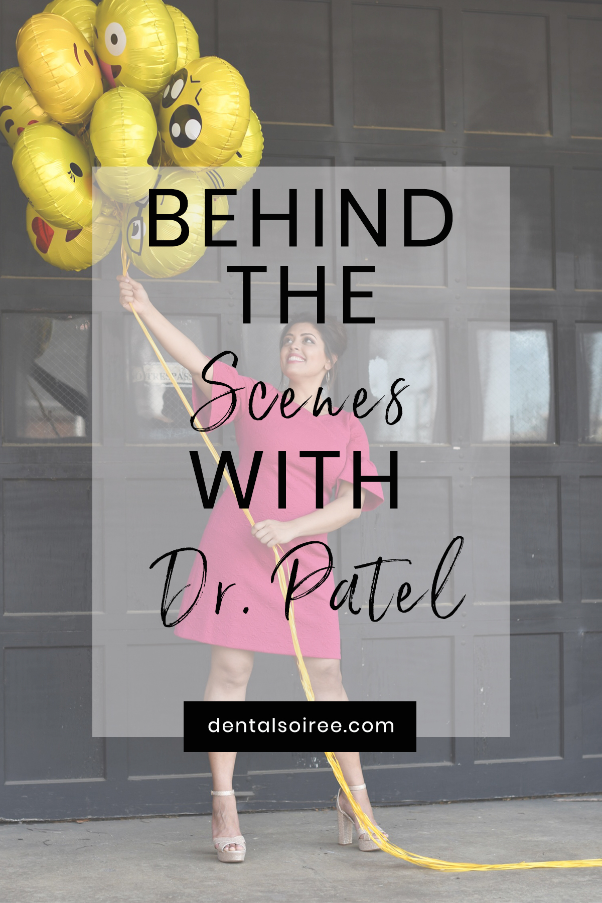 Behind The Scenes With Dr. Meenal Patel!