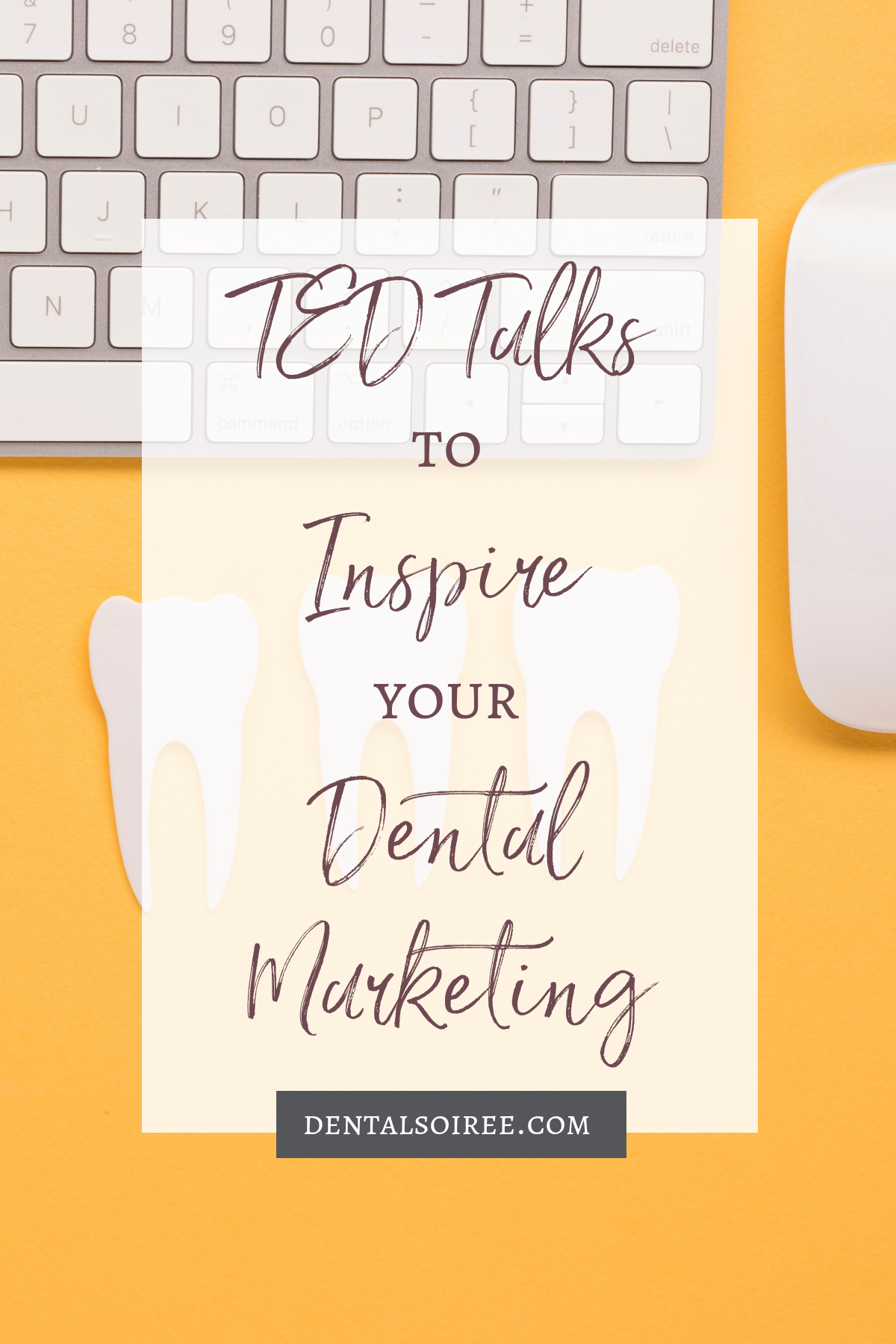 These TED Talks Will Inspire Your Dental Marketing