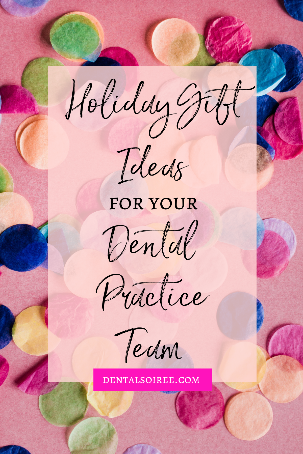 Gift Ideas for Your Dental Practice Team