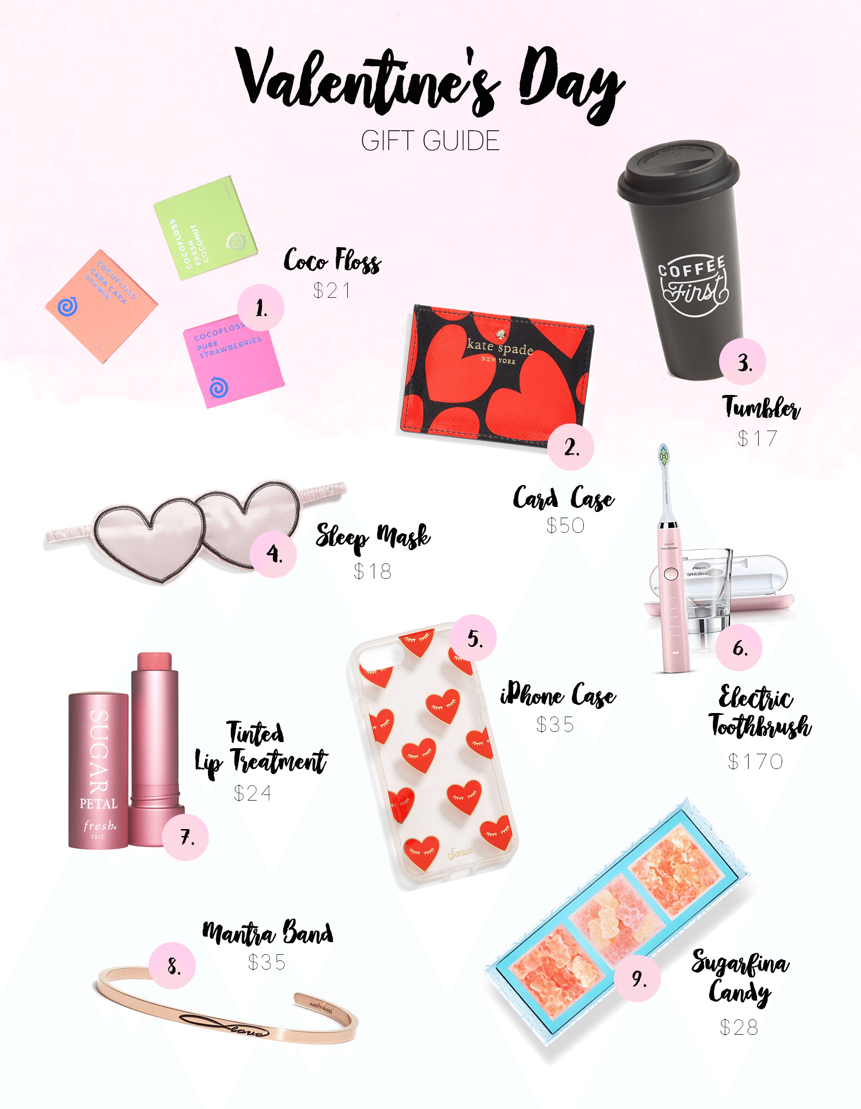 dentalsoiree//valentines day gifts