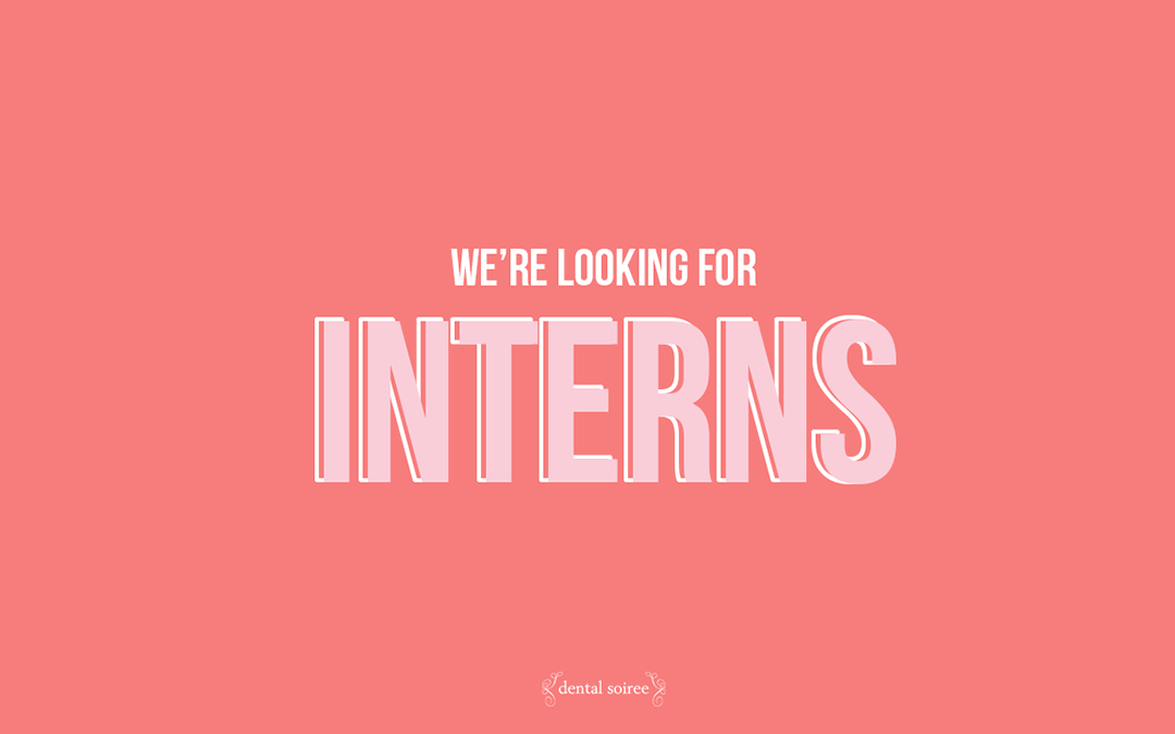 We're Hiring Interns!