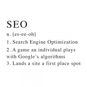 dental soiree // what is seo