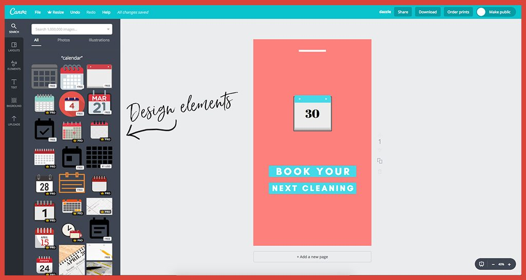 How To Design Instagram Stories Templates In Canva - dental soiree