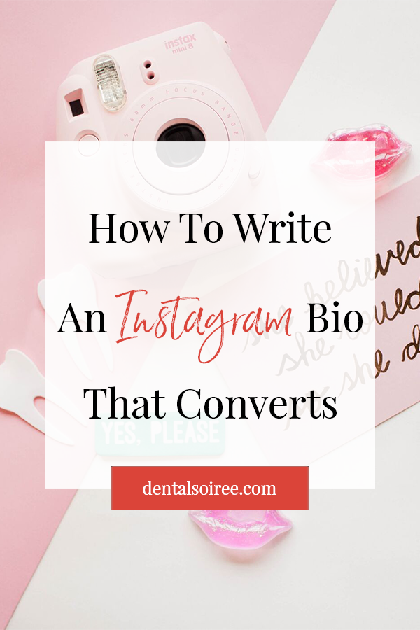 Writing An Instagram Bio That Converts