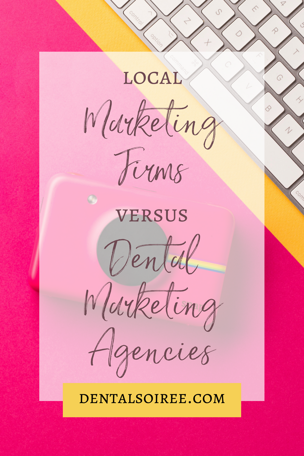 Should You Use a Local Marketing Firm or a Dental Marketing Agency?