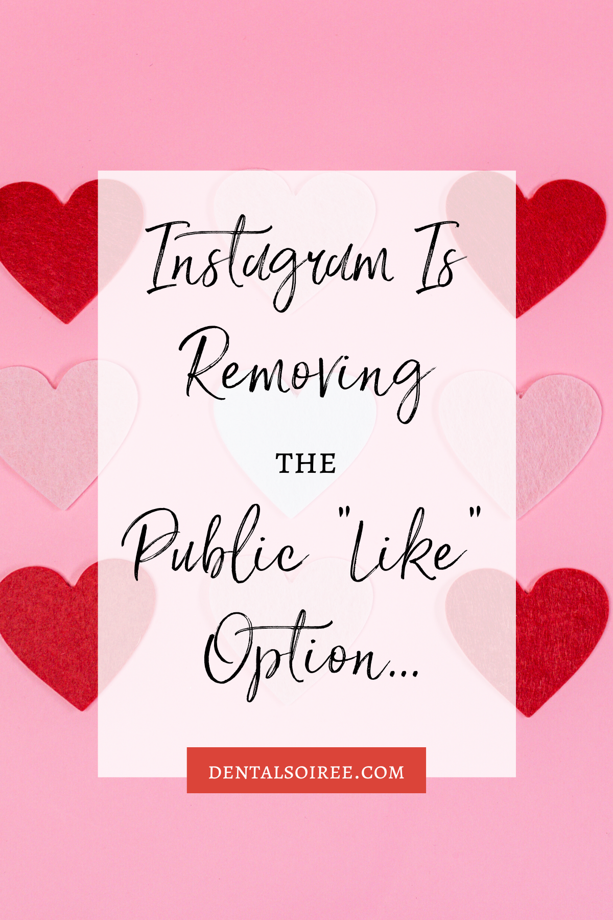 "Instagram is Removing the Public ""Like"" Option"